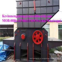 Máquina de la trituradora del tocón del motor diesel de la trituradora móvil de la trituradora de madera del tambor