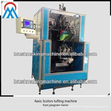 4 axes CNC automatique haute vitesse balai tufting machine chine fournisseurs