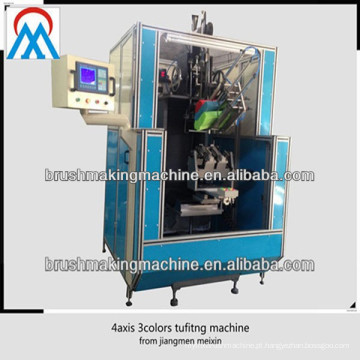 Fornecedores automáticos da porcelana da máquina da tufagem da vassoura de alta velocidade do CNC da linha central 4