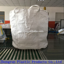 Circular jumbo size big bag with loading capacity 1 ton for silica powder , industry bags