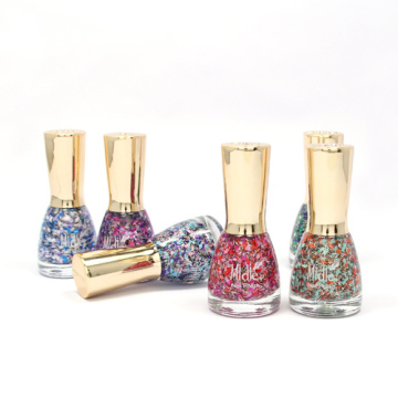 Esmalte de uñas Top Coat Diamond Glitter