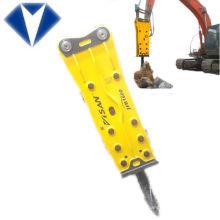 martillo hidráulico, martillo neumático montado en excavadora, interruptor montado en la máquina