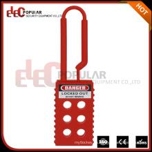 Elecpopular Productos de alta demanda Seguridad Flexible Hasps Aislamiento Nylon Lockout Hasp