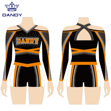 Benutzerdefinierte sexy Cheerleading Uniform