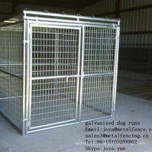 Solide Dach 5'x10'x6 'Anti-Rost Hund läuft