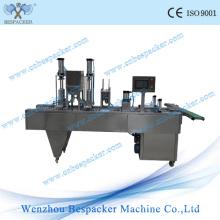 Máquina automática da selagem do calor do copo do gelado do gelo