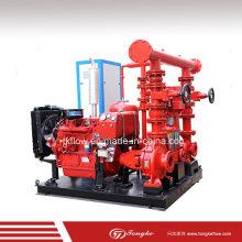 Пожарный дизельный двигатель Центробежный водяной насос (комплект)