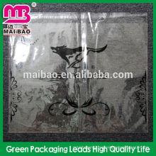 Bolsa de tela con bolsa de plástico con orificio de aire
