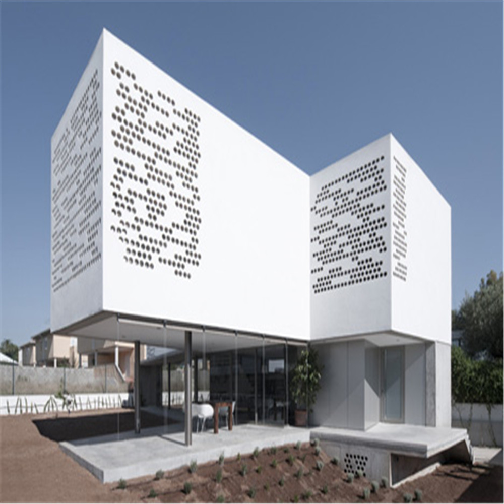 Aluminum Perforated Facade Cladding