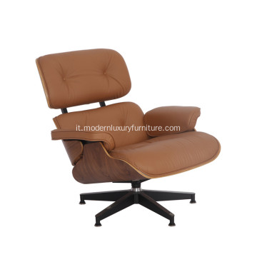 Eames Lounge Chair in pelle classico intramontabile