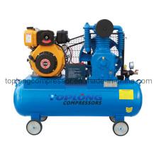 Gasolina gasolina diesel movido compressor de ar bomba de ar (td-0.53 / 12)