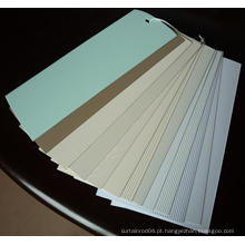 Cores de persianas verticais de 89mm / 127mm (SGD-V-4242)