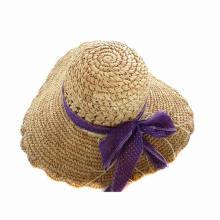 High Quality Ladies Straw Hats Wholesale (GKA01-Q0120)