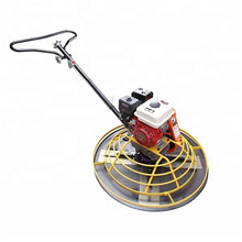 High quality mini walk behind gasoline engine  power trowel  factory price for sale