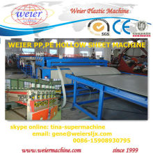 most professional PP hollow board prodution line