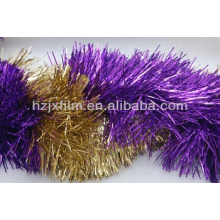 Metallized Tinsel Garland Film