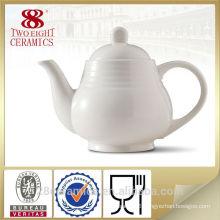Grace tea ware, white ceramic tea pot