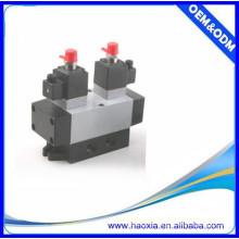 Contrôle de débit de la vanne d'eau électrique pneumatique 5 / 2Way K25D2-08