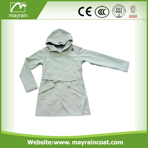 Nylon PU Outdoor Waterproof Jacket