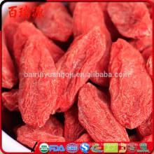 Wolfberry Goji Beere wo Goji Beeren verkauft Nährwert von getrockneten Goji Beeren