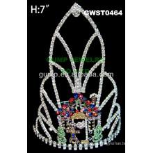 Tiara y corona de pan de jengibre