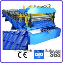 YTSING-YD-4367 passou a máquina da folha do perfil da telha do CE, máquina do rolo da telha do metal que dá forma à máquina
