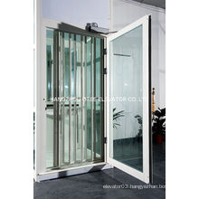 Aluminum alloy fame glass folding door