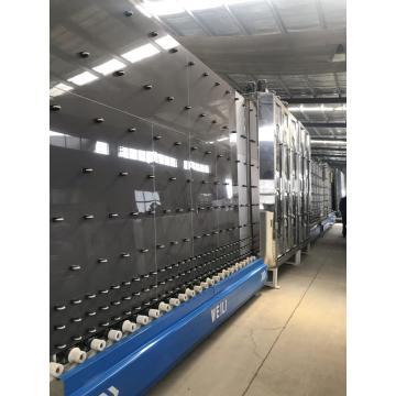 Lavadora y secadora de vidrio vertical CE