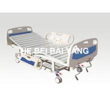 (A-56) - Подвижная двухфункциональная ручная больничная койка с головкой из ABS-кровати