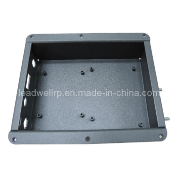 Alta qualidade perfuração dobrando protótipo de chapa metálica (LW-03001)
