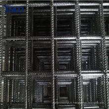 150x150 treillis d'armature de béton, treillis d'armature en acier pour les fondations en béton