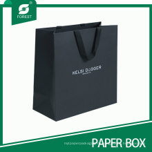 Горячей Продажи Хорошее Качество Пользовательские Черный Бумажный Мешок