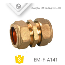 ЭМ-Ф-А141 равных коннектор латунный штуцер соединения трубы для ПВХ трубы