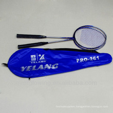 2015New Arrive Wholrsale Black And Blue Iron XL261 Specialized Badminton Racket