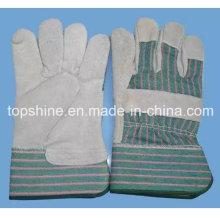 Высококачественная промышленная безопасность Cowhide Split Leather Worker Labor Gloves