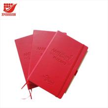Qualitäts-Geschäfts-Geschenk-Logo kundengebundenes Notizbuch A5