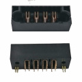 6.35MM 4P Power Male Straight Dip Power Connector