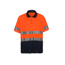 High Visibility Reflective Safety Polo Shirt
