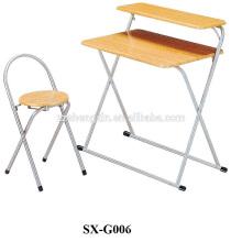 Table d'étude enfant et bureau d'ordinateur de chaise 1 + 1set