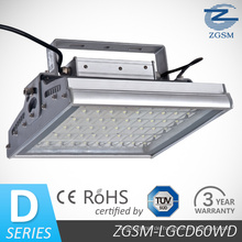 60W Meanwell Treiber mit CE/RoHS zertifiziert LED Gas Station Canopy Licht