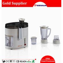Geuwa 4 en 1 Multifuncional Hogar Utilizado Procesador de Alimentos Eléctrico J26A