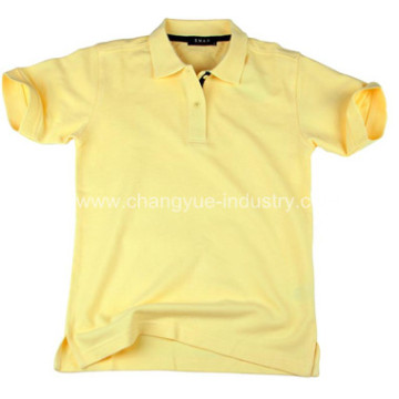 Colorful quality cotton Casual Blank Polo T-shirt
