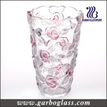 """6 """"Vase en verre coloré, vaisselle, décoration, promotion cadeau (GB1515MG / PDS)"""