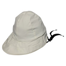 White PU Rain Hat /Rain Cap/Raincoat for Adult