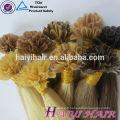 Luxe Qualité Direct Usine En Gros Russe Cheveux Double Dessiné Remy U Astuce Cheveux Extension