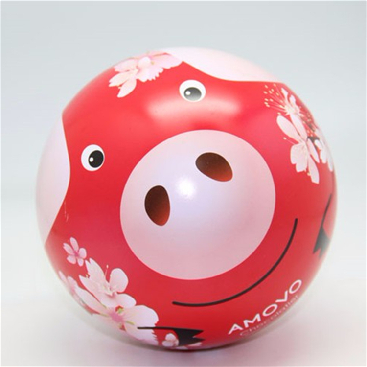 Pig Pattern Custom Printed Gift Tin Money Box