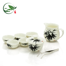 Chinese Gift Package Teaware Set, 6 Pairs of Drinking & Sniffing Cups+ Teapot+Pitcher+ Gongfu Tea Bowl