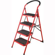 escalera de hierro del hogar escalera de 4 escalones escalera retráctil taburete de la cocina lidl
