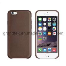 Производство для высокого качества PU для iPhone 6 кожаный чехол