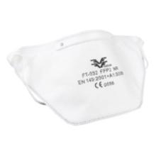 032 FFP2 FACE MASK Metade das máscaras respiratórias de filtragem de aerossol com válvula de expiração - Respirador de máscara descartável 10 Pack FFP2 com
